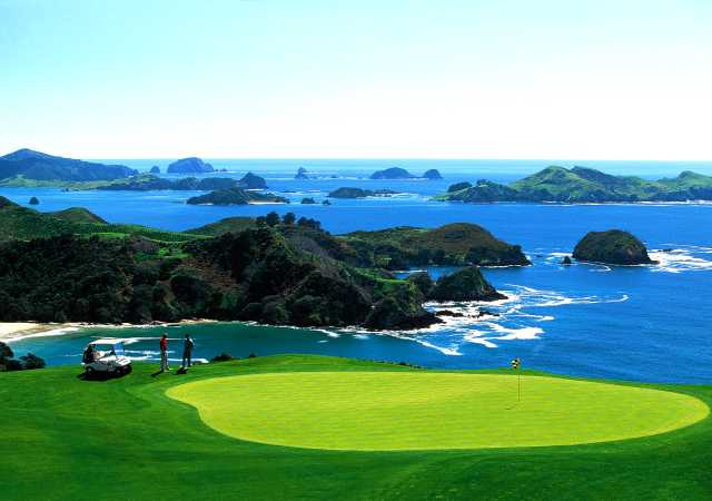 Golf in New Zealand